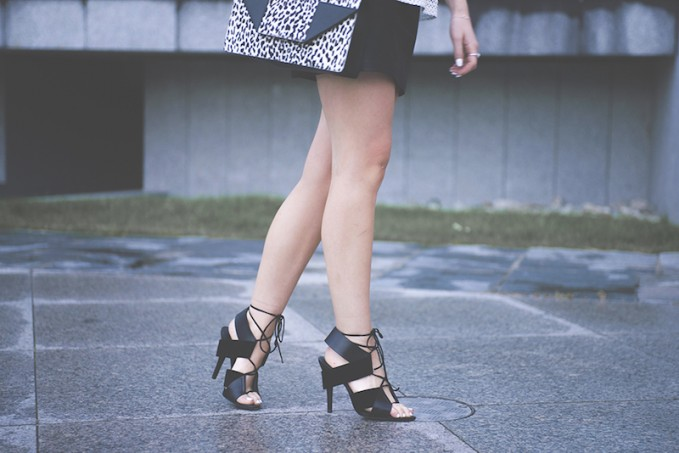 Alexander Wang Malgosia Lace-up Sandal