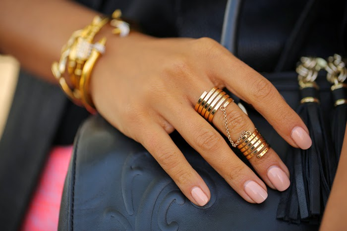 Bondage Chain Ring Ring by BaubleBar