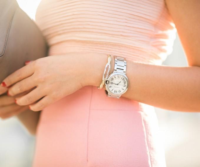 Cartier W69010Z4 Ballon Bleu Ladies Dress Watch
