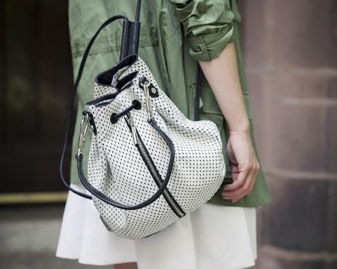 Elizabeth and James Perforated Cynnie Sling Bag