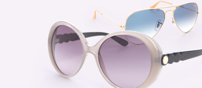 Faded In The Shade ft. Ray-Ban Sunglasses at Belle & Clive