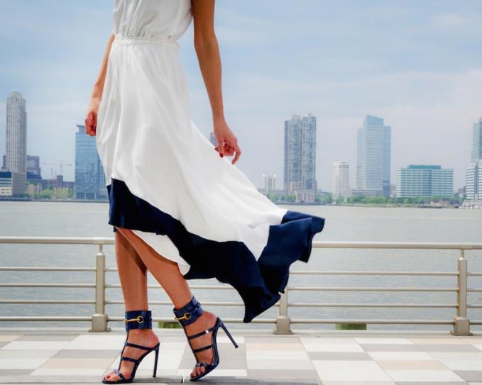 Gucci Ursula Patent Leather Horsebit Sandals