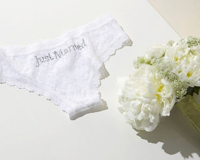 Hanky Panky 'Just Married' Cheeky Hipster Briefs