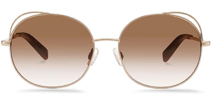 Karlie Kloss x Warby Parker Clara in Heirloom Gold