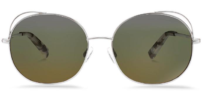 Karlie Kloss x Warby Parker Clara in Heriloom Silver