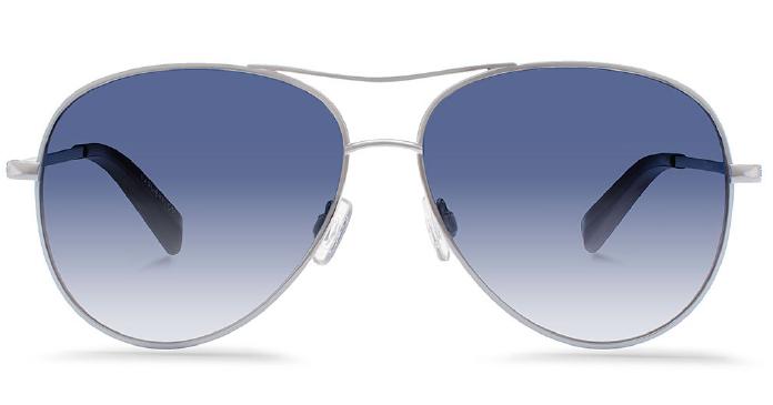 Karlie Kloss x Warby Parker Julia in Heirloom Silver