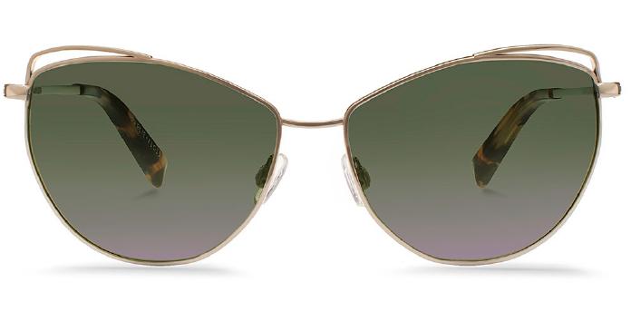Karlie Kloss x Warby Parker Marple in Heirloom Gold