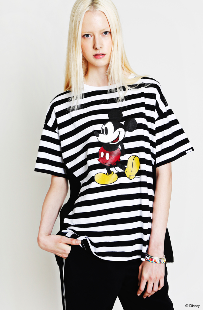 LIFUL x Disney 2014 summer capsule collection 01