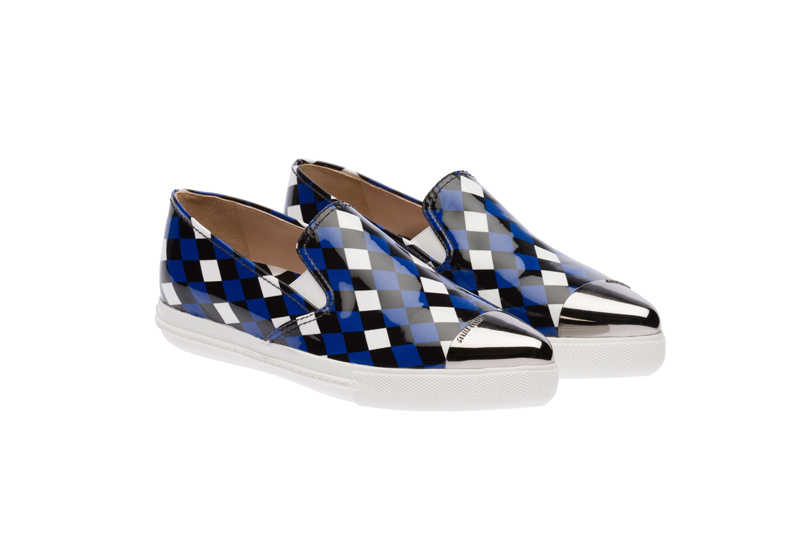 Miu Miu Pointy Toe Slip-On Sneakers 04