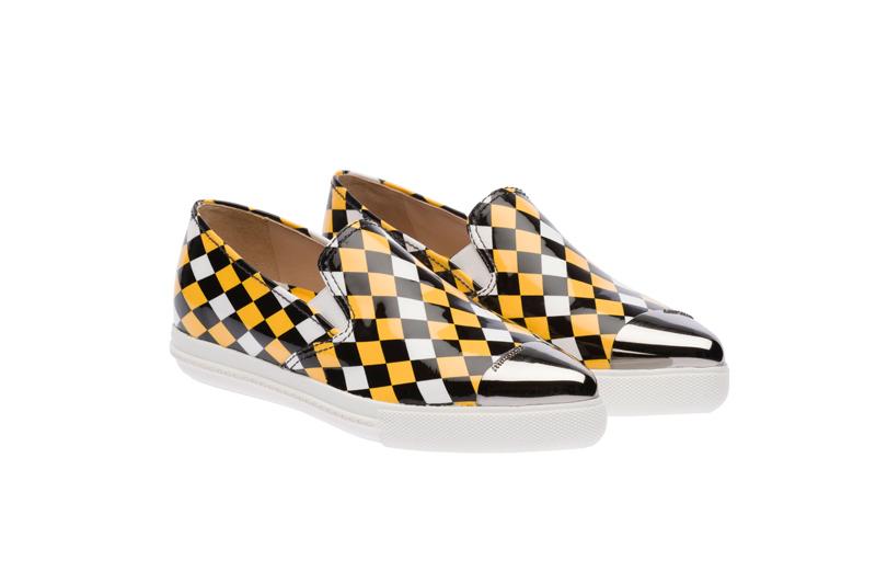 Miu Miu Pointy Toe Slip-On Sneakers 05