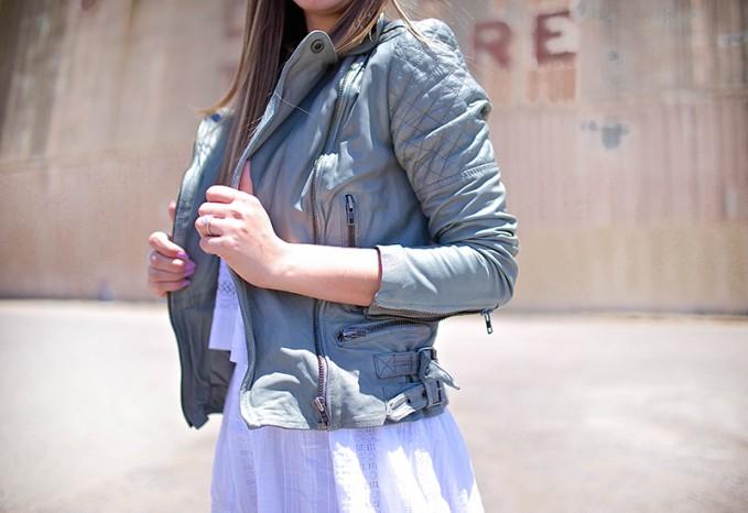 Muubaa Rokel Leather Biker Jacket