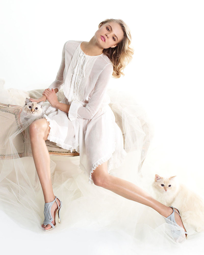 Nina Ricci SS 2014 Lookbook by Magdalena Frackowiak for Neiman Marcus