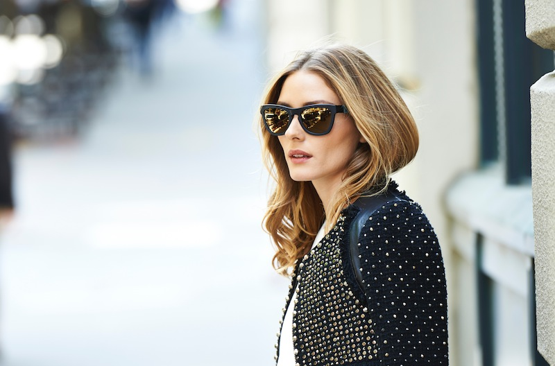 Olivia Palermo x Westward Leaning Sunglasses Collaboration