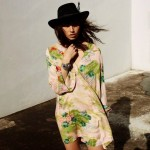 Somedays Lovin Hoax Tropical Cape Dress