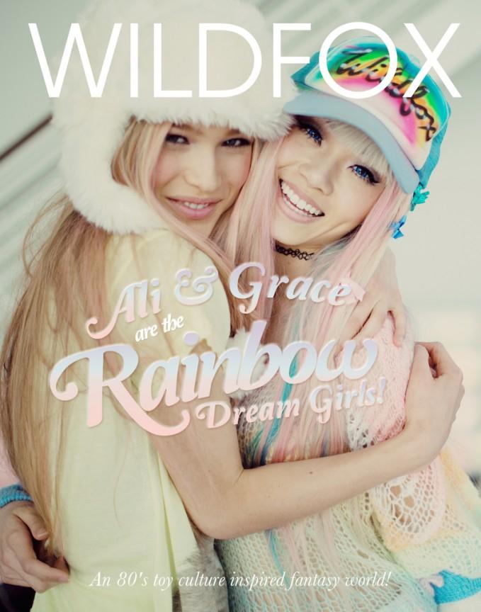 Wildfox Rainbow Dream Girls Prefall 2014 Lookbook