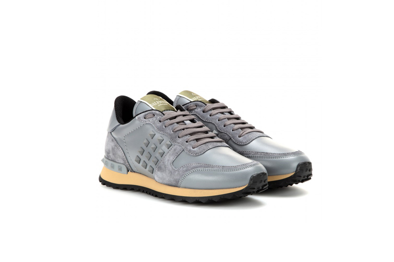 valentino-suede-and-leather-sneakers
