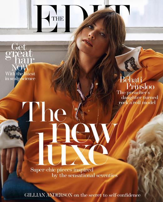 '70 Seduction Behati Prinsloo for The EDIT_COver