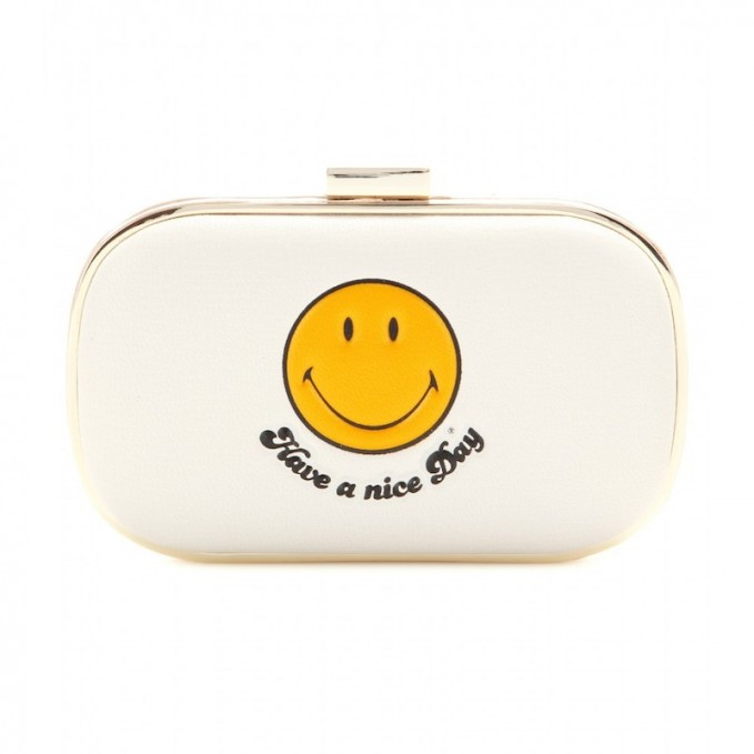 Anya Hindmarch Smiley Leather Card Case