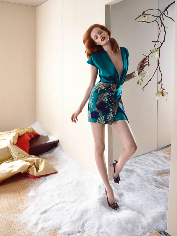 Blumarine Fall Winter 2014 AD Campaign by Thairine Garcia