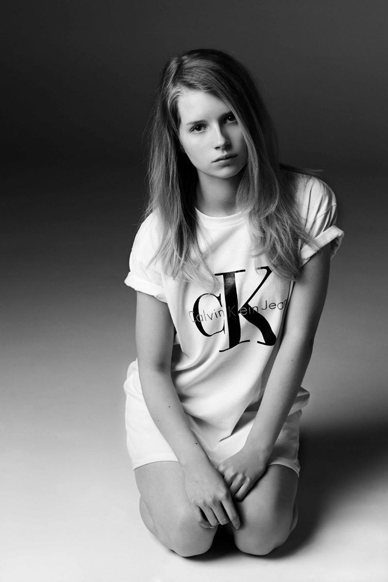Calvin Klein Jeans x mytheresa.com Collection Lookbook by Lottie Moss