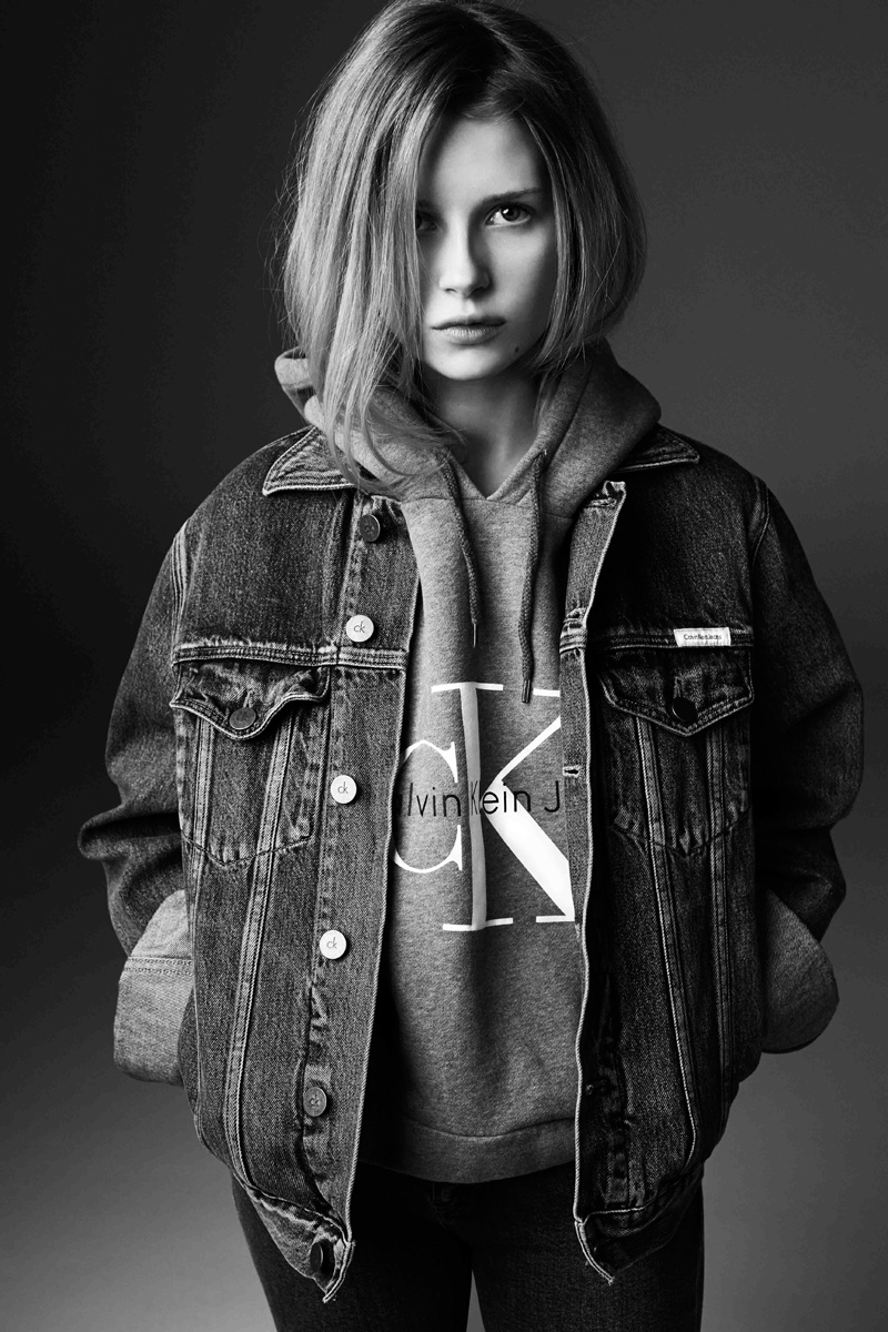 Calvin Klein Jeans x mytheresa.com Collection Lookbook by Lottie Moss