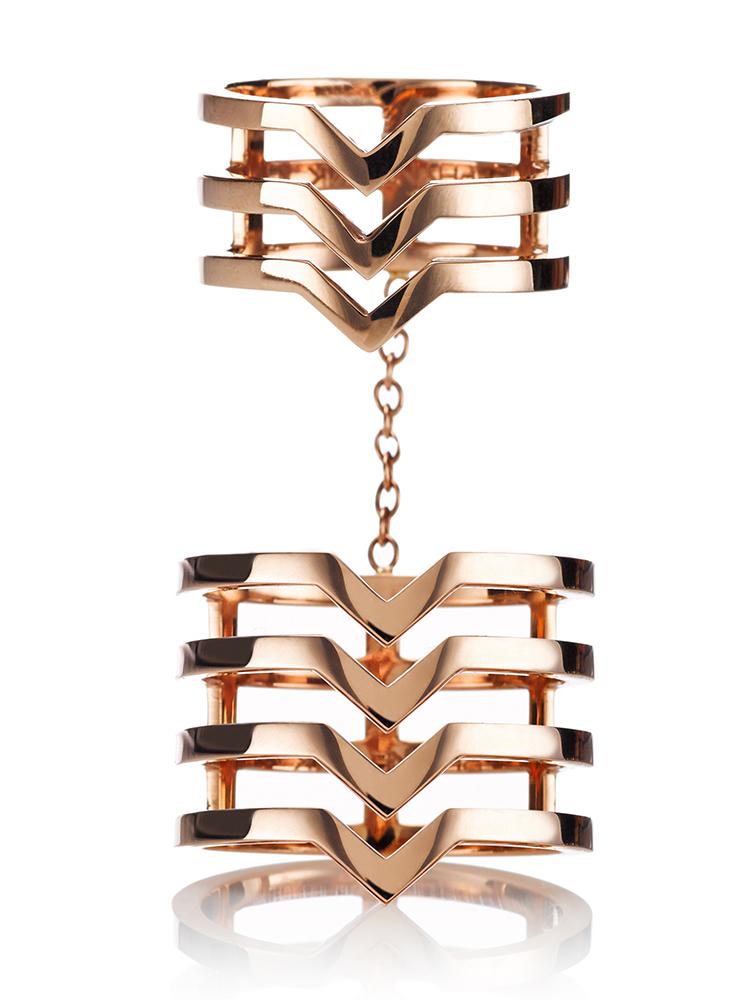 Christina Double Ring by Paige Novick