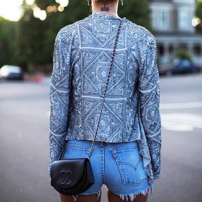 Cleobella Lana Beaded Jacket
