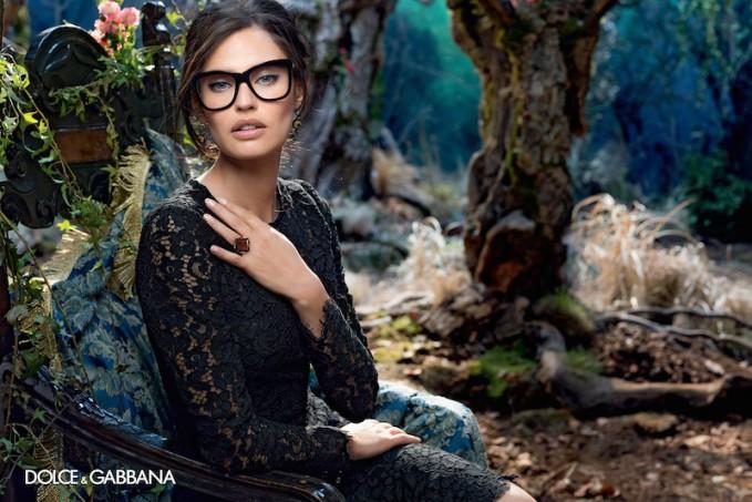 Dolce&Gabbana Eyewear Women's Fall Winter 2014 AD Campaign