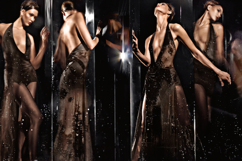 Donna Karan Fall 2014 AD Campaign by Karlie Kloss