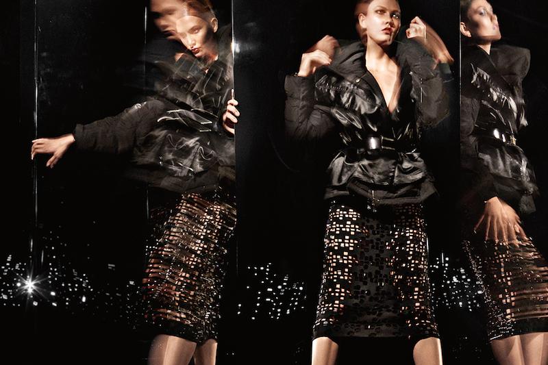 Donna Karan Fall 2014 AD Campaign by Karlie Kloss