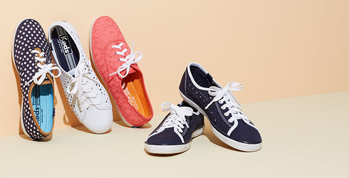 Easy Summer Shoes Feat. Keds at Gilt