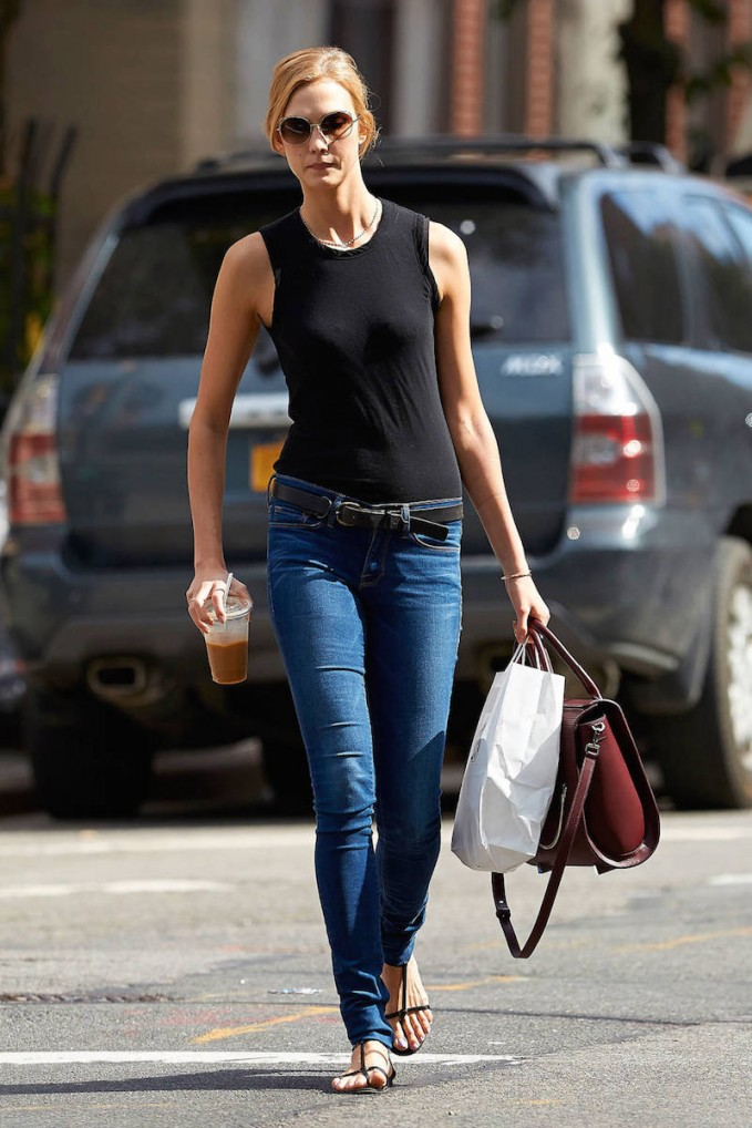 FRAME Denim Le Skinny Forever Karlie in Columbia Road