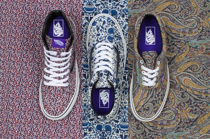 Fall 2014 Vans x Liberty Art Fabrics Collection