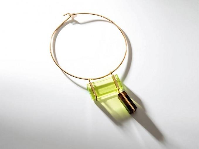 Fendi Colour-block Necklace