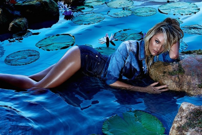 Forum Spring 2015 Campaign feat. Candice Swanepoel