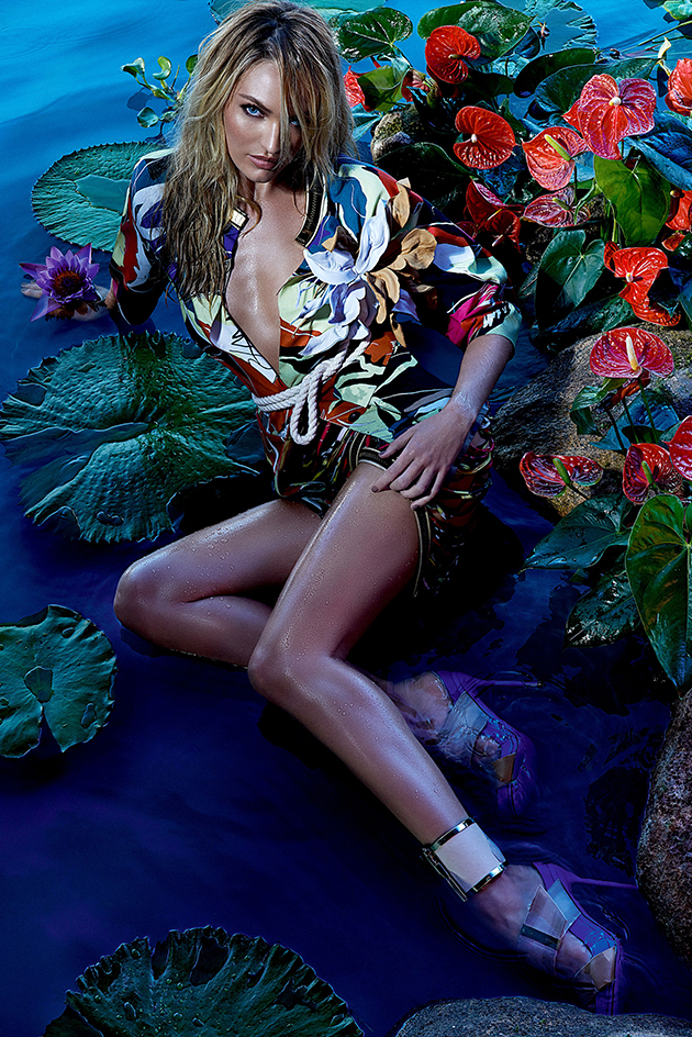 Forum Spring 2015 Campaign feat. Candice Swanepoel_1
