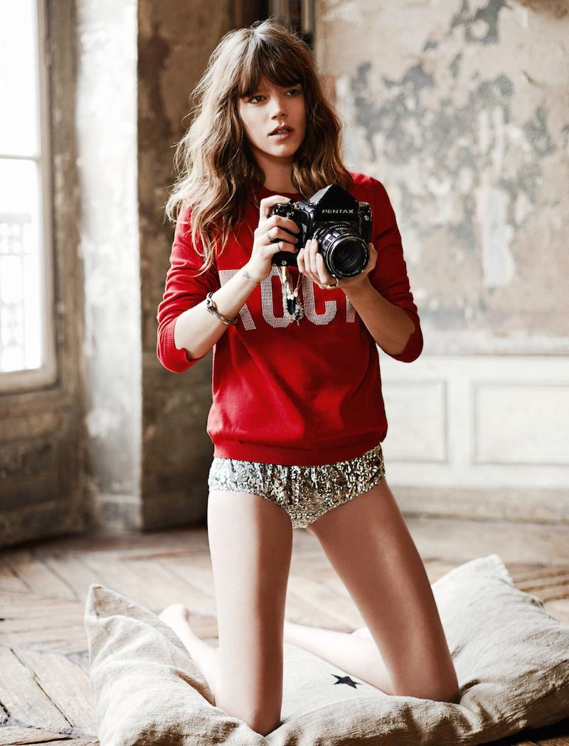 Freja Beha Erichsen for Glamour France August 2014_2