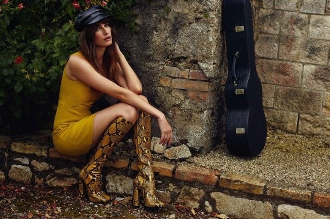 French Twist: Eugenia Volodina by Xavi Gordo for Elle Spain August 2014