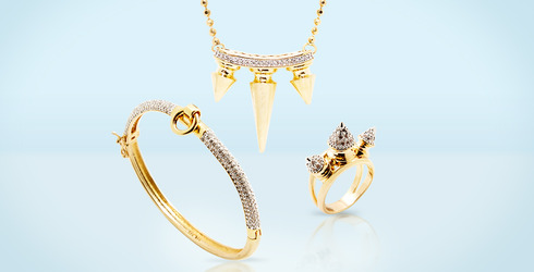Jewelry With Attitude Feat. Noir at Gilt