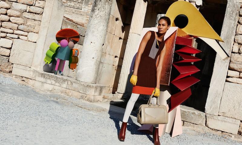 Joan Smalls for Missoni Fall Winter 2014 AD Campaign