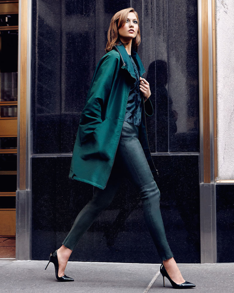 Karlie Kloss Poses in Neiman Marcus Fall 2014 Trend List