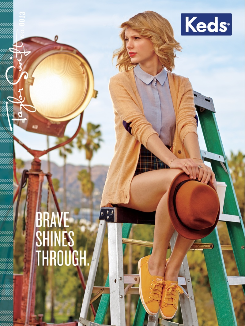 Keds Fall 2014 AD Campaign by Taylor Swift