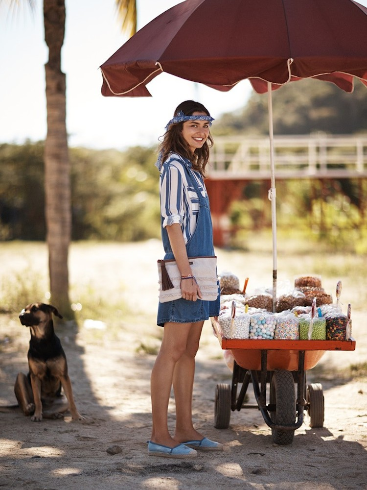 MANGO Summer 2014 Lookbook Surfer Girl by Andreea Diaconu_12