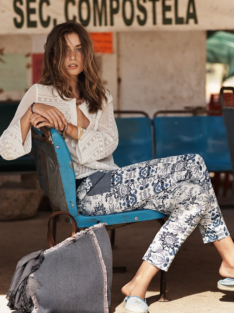 MANGO Summer 2014 Lookbook Surfer Girl by Andreea Diaconu_3