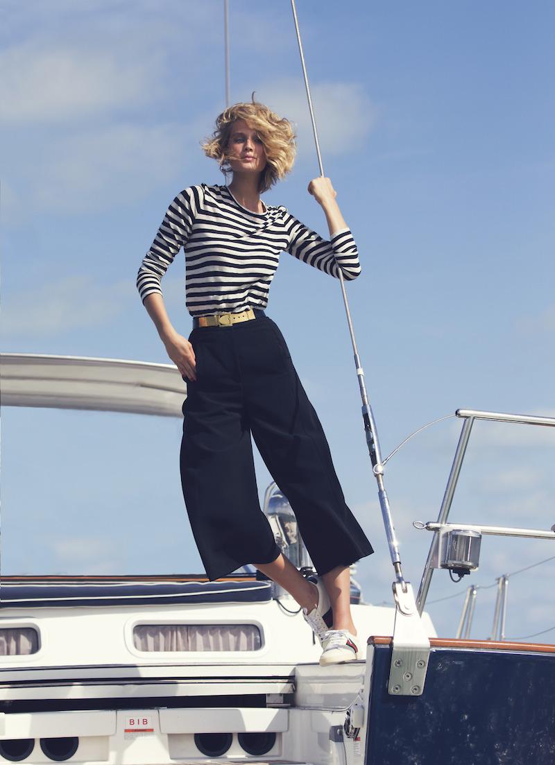 Making Waves: Toni Garrn for The EDIT