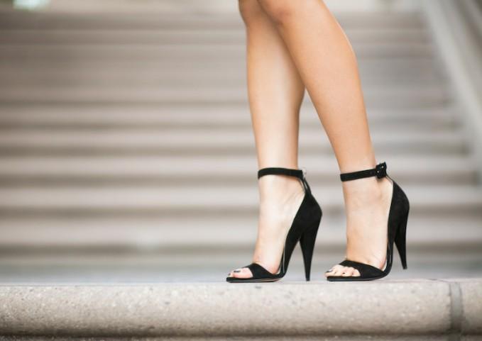 Miu Miu Suede Ankle Strap Band Sandal