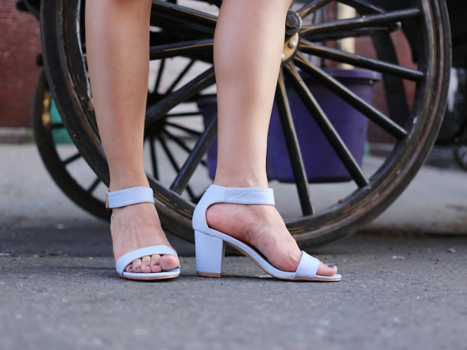 Mixx Shuz Ava Ankle Strap Sandals