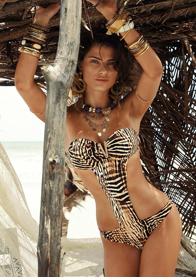 Morena Rosa Beach Summer 2015 AD Campaign by Isabeli Fontana