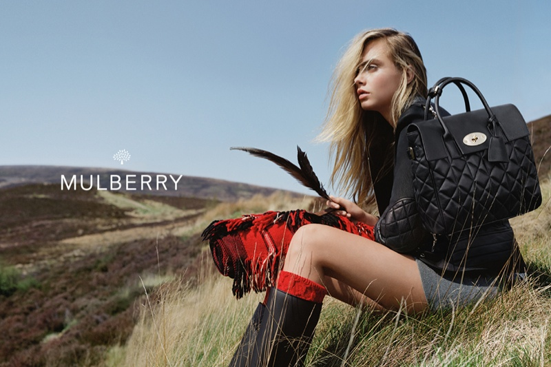 Mulberry Fall 2014 AD Campaign by Cara Delevingne_2