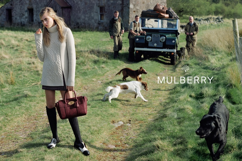 Mulberry Fall 2014 AD Campaign by Cara Delevingne_3